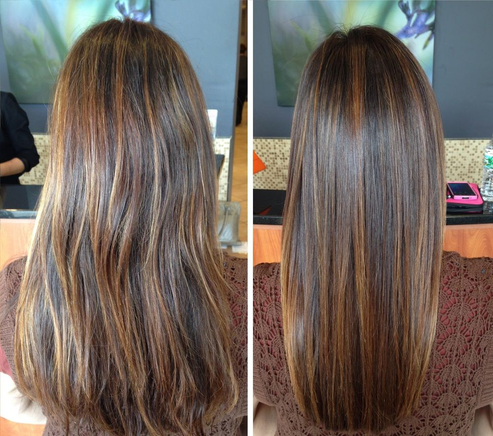 Before \u0026 After Keratin Treatment  Our Work! Only at Salon Belladonna in 2019  Hair, Hair