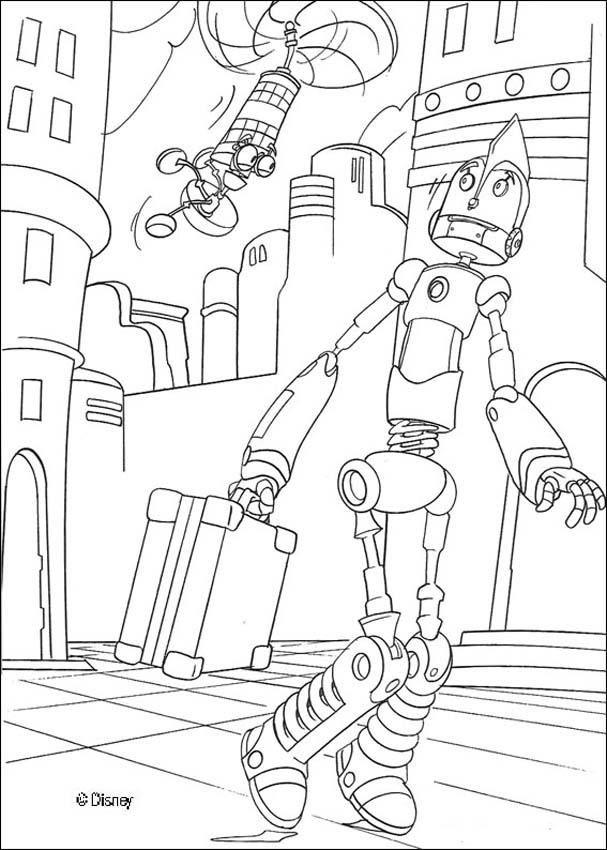 Colorea robot | Robo4Y&RoboToy | Pinterest | Colores