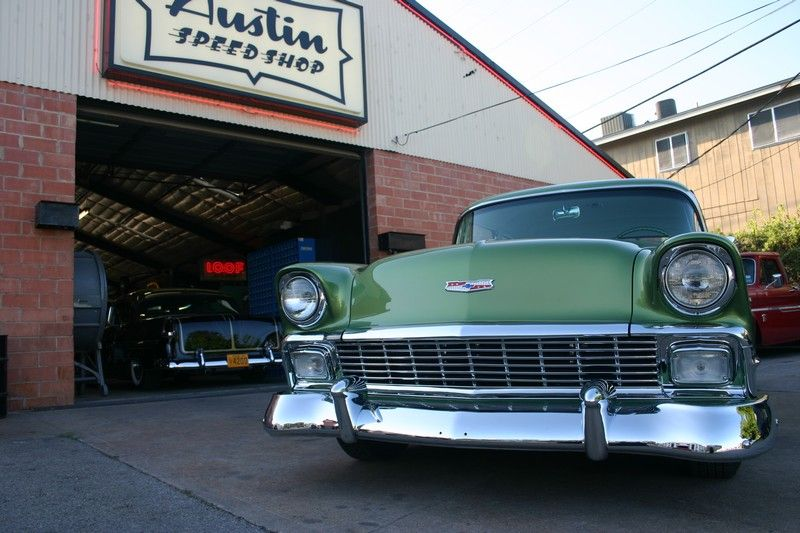 Austin Speed Shop Austin Tx Jon Michelson S 1956 Chevy