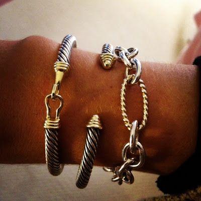 David Yurman Bracelets They Look Great Whether You Wear