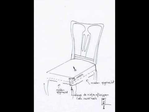 Stof Stoel Bekleden : Diverse stoelen zelf stofferen youtube silke
