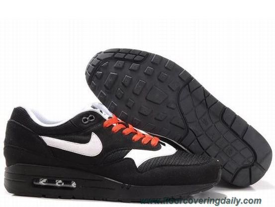 Nike Air Max 1 Mens Black Sail Black Spice 308866 018 Sale