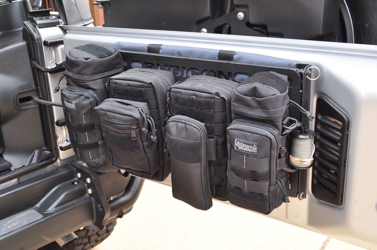 So A Guy In High Point Makes And Sells These Molle Racks