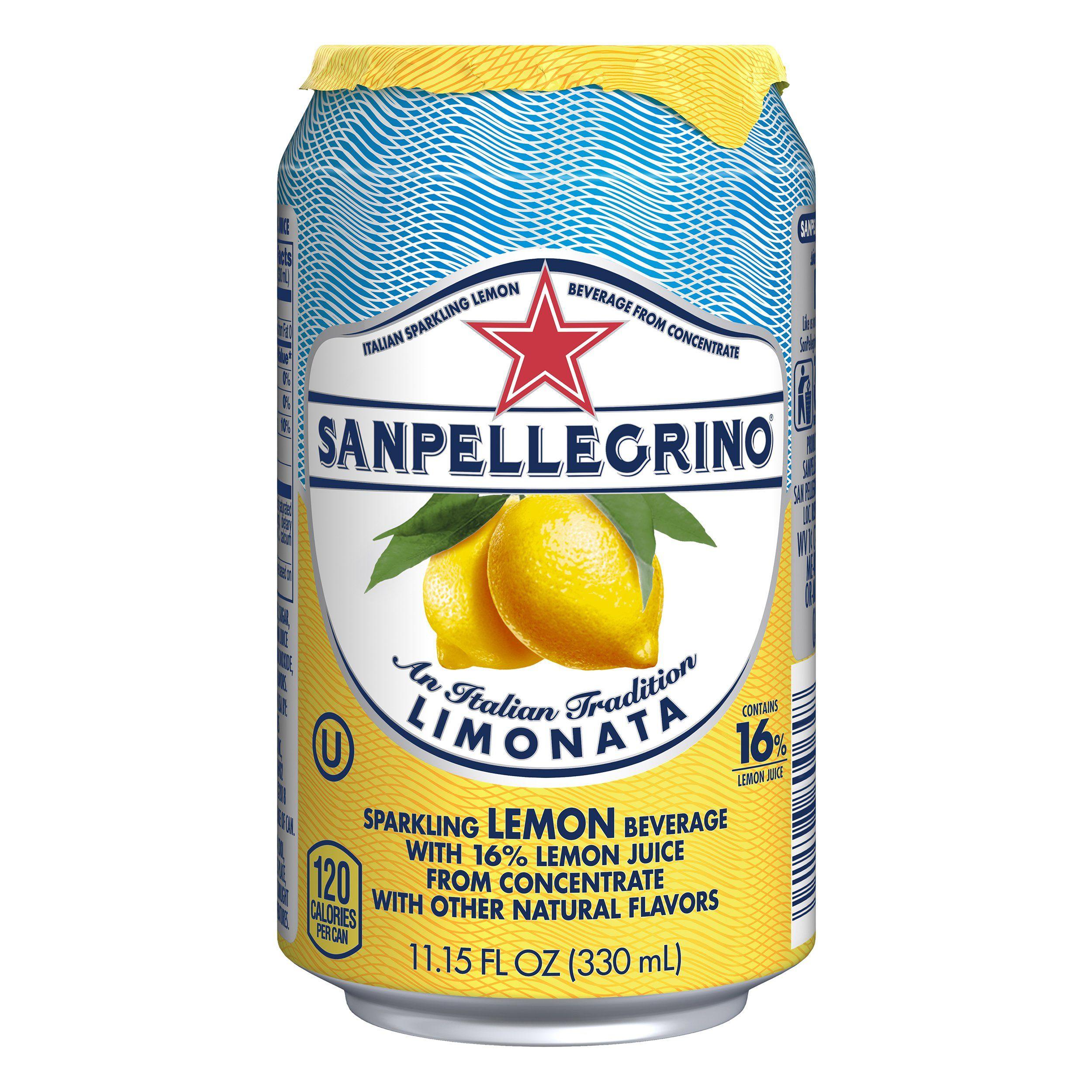 Sanpellegrino Lemon Sparkling Fruit Beverage 11.15 fl oz