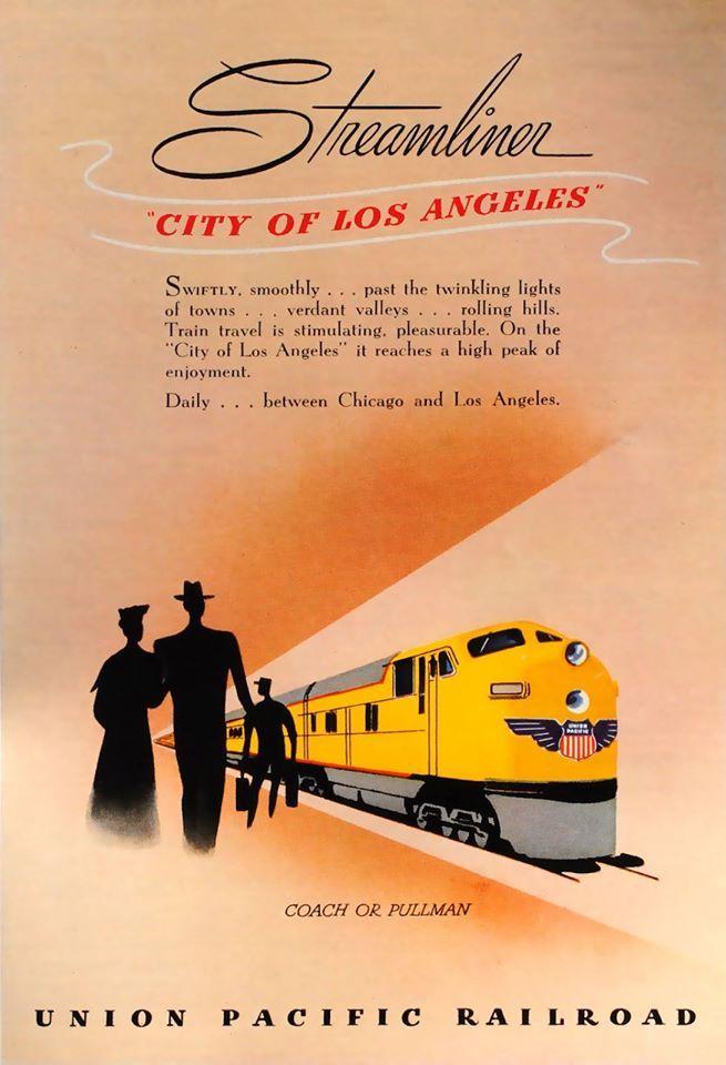 Vintage Railroad Poster 11