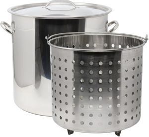Top 10 Best Crab Steamer Pots Reviews in 2020 - Economical Chef in 2020 |  Steel stock, Stock pot, Stainless