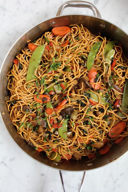 Vegetarian chow mein recipe chow mein dishes and easy forumfinder Image collections