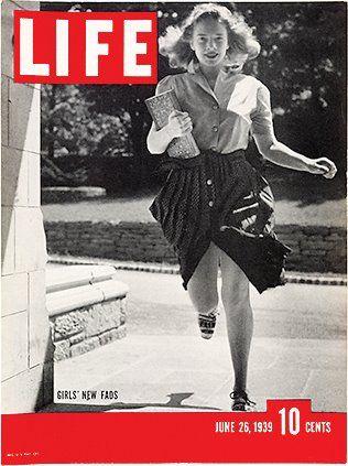 Life Magazine 6 26 39 Girls New Fads Life Magazine