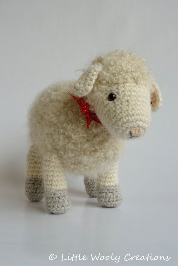 Haakpatroon Cora Het Schaap Schapen Door Littlewoolycreations