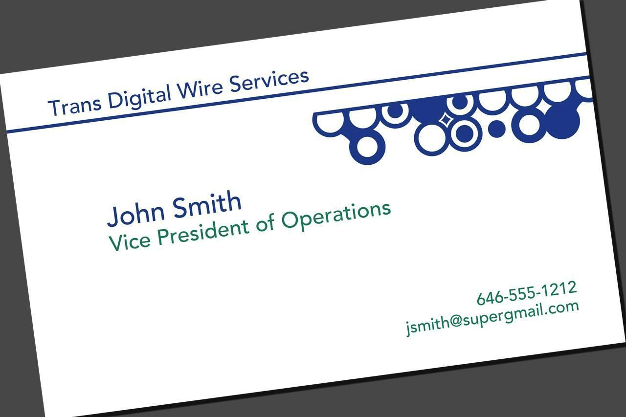 create printable business cards online free
