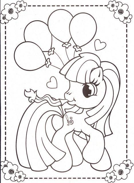 Ideas Increíbles Para Una Decoración De Cumpleaños De Little Pony