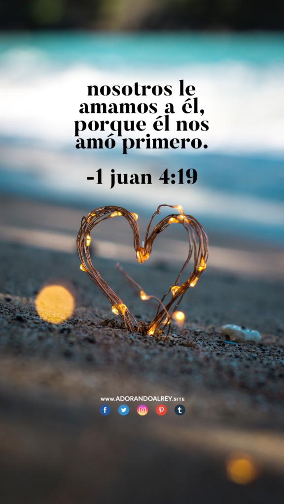1 Juan 419 Citas Biblicas De Amor Frases Dios Y Dios Es Amor