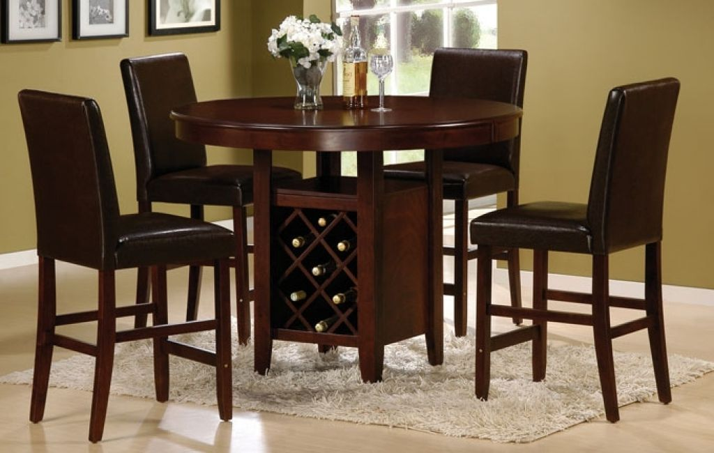Tall Round Dining Room Tables Home Design Table Jpg 1024 650