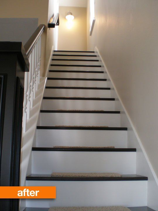 Before & After: Kelly's Staircase Remodel on a Budget ...