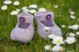 Landlust Für Kleine Füße Babyschuhe Häkeln Häckeln Pinterest