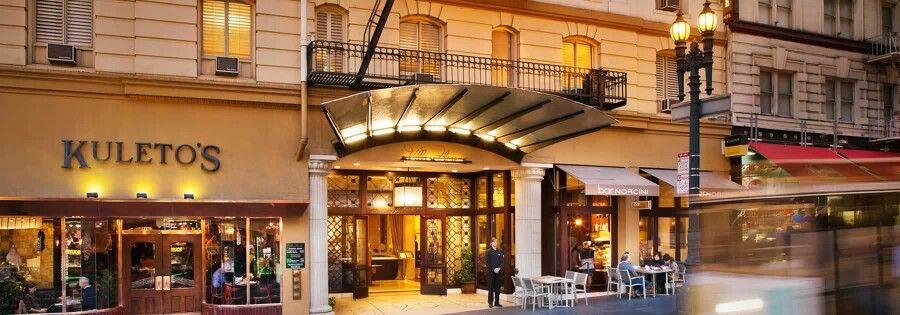Villa Florence Hotel Union Square San Francisco San