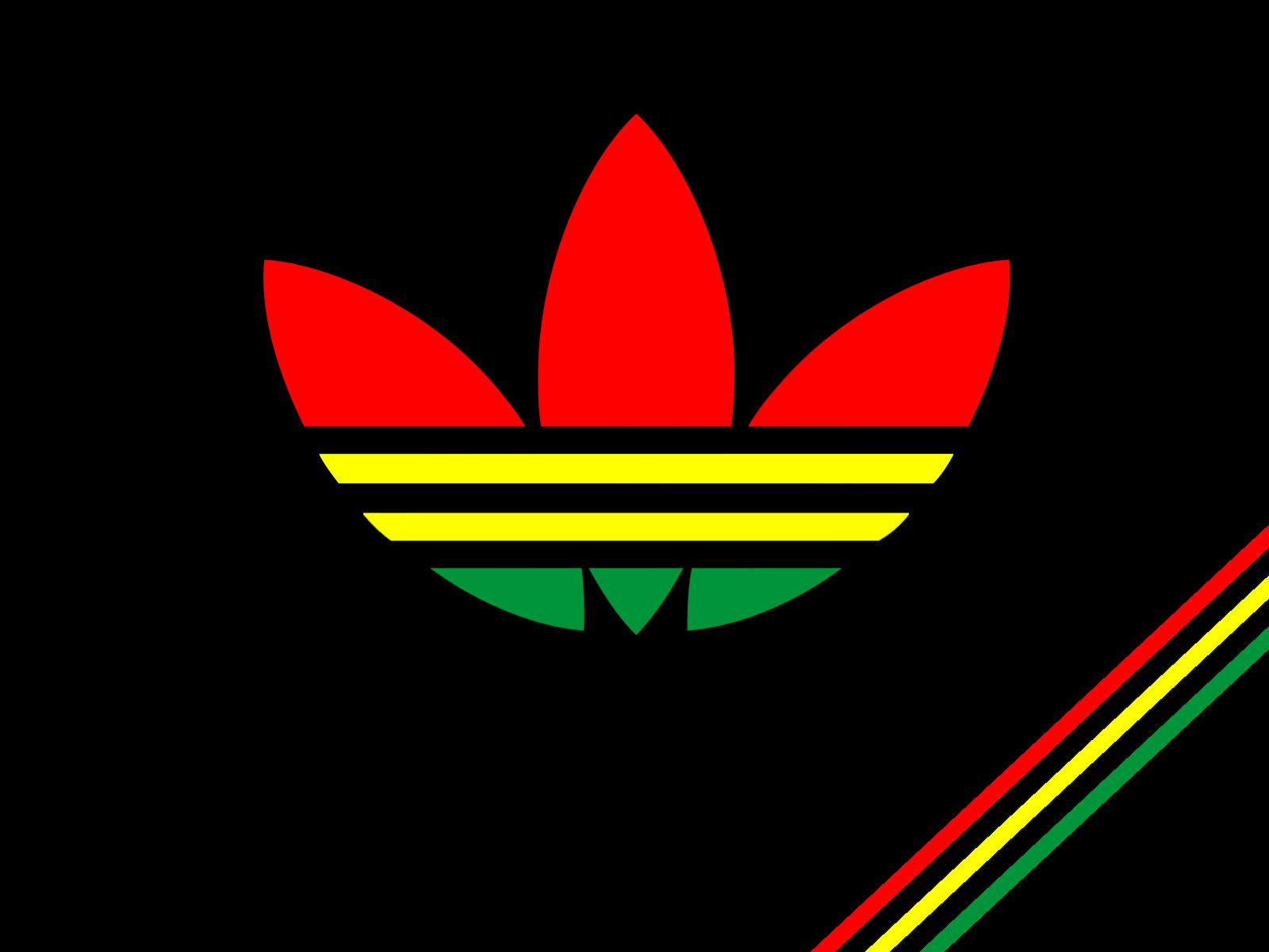 Adidas Originals Rasta Wallpaper 16001200 Stiker Pinterest