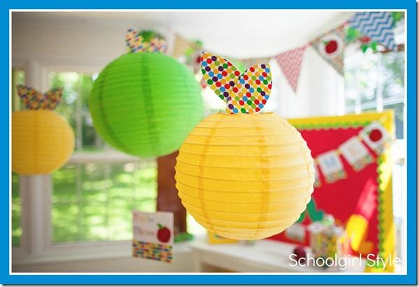 Hang lanterns from your classroom ceiling to create that ...