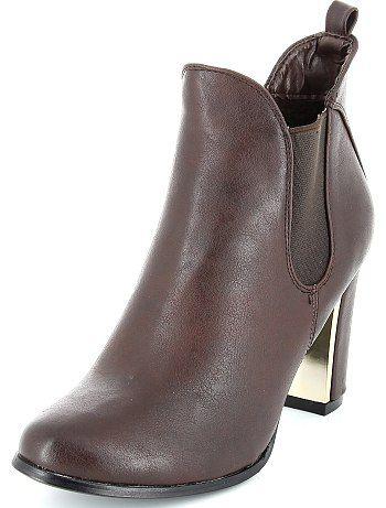 Boots à détail métallique 30 Femme talons 00€ Boots avec deExBoQrWC
