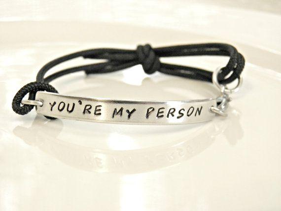 Vous êtes ma personne Personalized main par PeggysPassions sur Etsy
