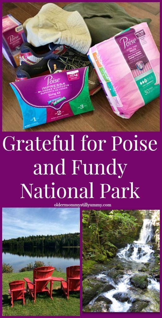 Grateful for Poise and Fundy National Park Older Mommy