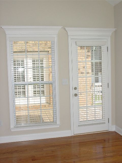 Fabric Shades For French Doors Pediment Over Window