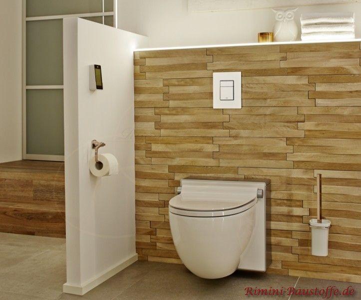 Wandverkleidung für das Badezimmer Riemchen Feinsteinzeug Metro