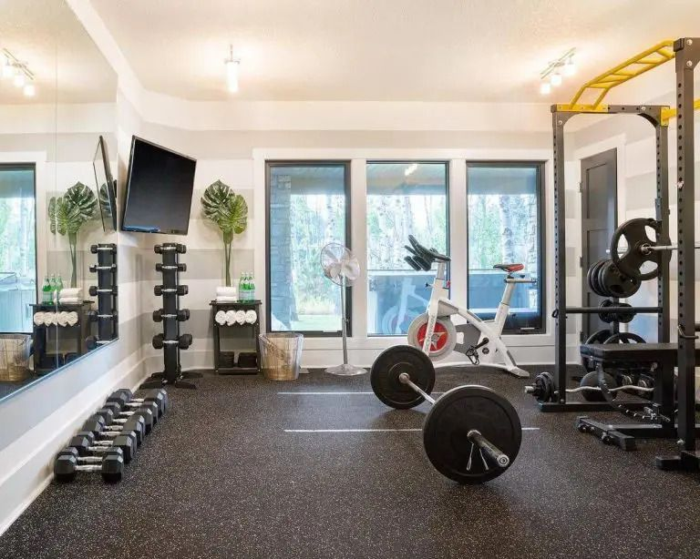 Home Gym Ideas Gym Equipment On A Budget Workout Room Home
