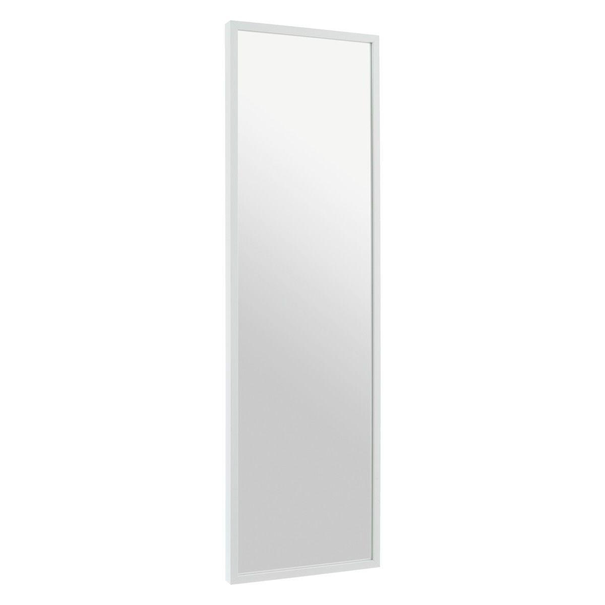 White Birch 40 X 140cm White Full Length Wall Mirror Birch High