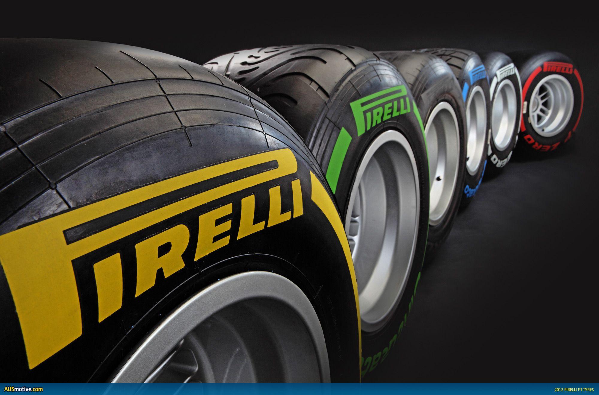 2012 F1 Pirelli Tyre Colours Tyre Companies Pirelli Car Tires