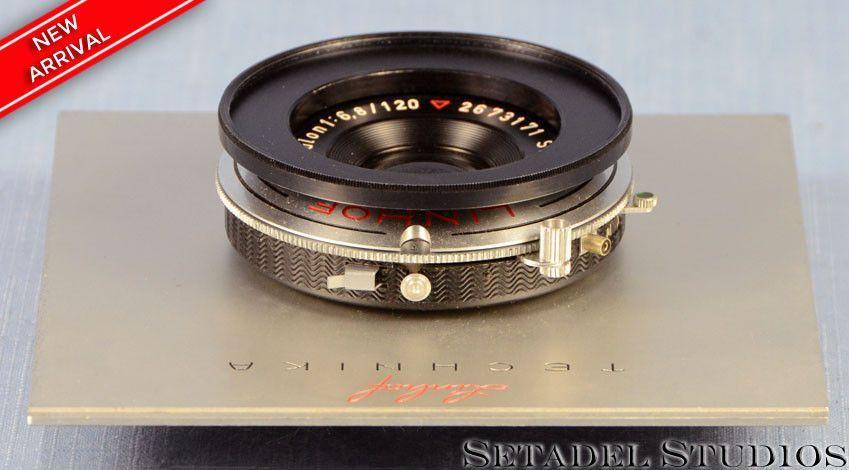 Linhof Select Schneider Angulon 120mm F6.8 5x7 Lens