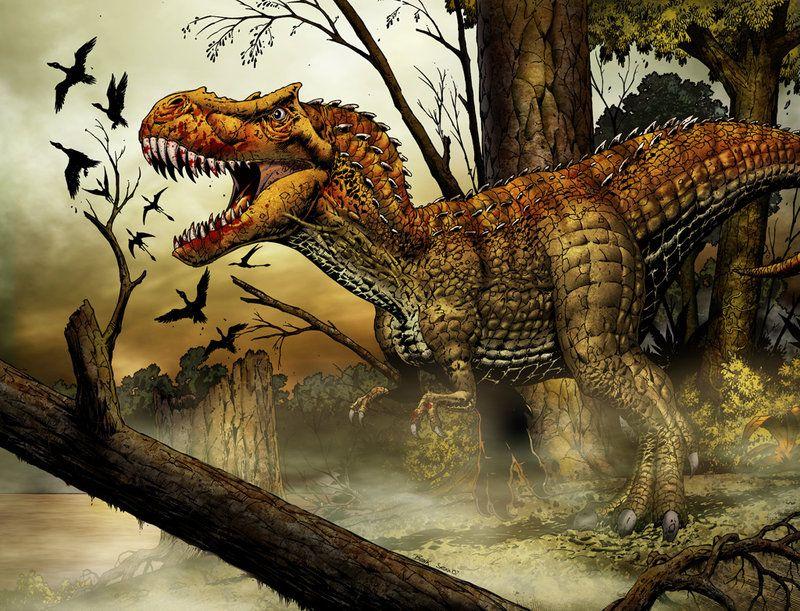 T - Rex by *SeanE on deviantART