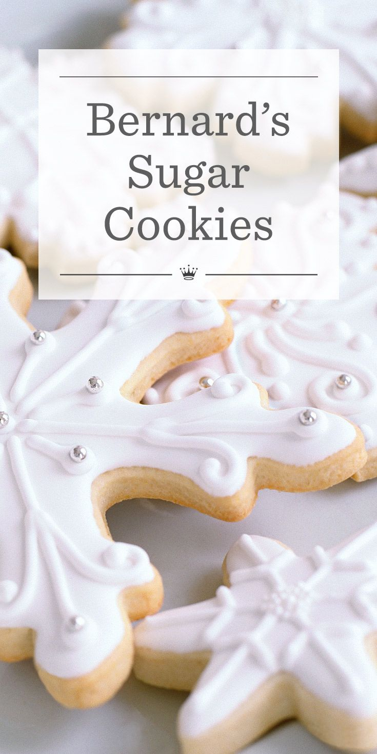 Hallmark's cookie expert Bernard Shondell shares his recipe for a sugar cookie dough that delivers on taste as well as versatility.