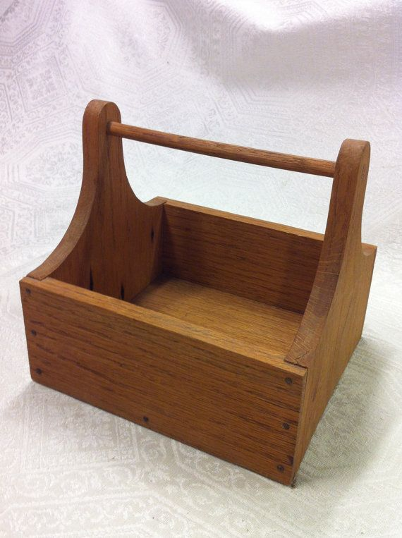 Beautiful Oak 6x6 Handcrafted Wooden Box by VintageDElegance
