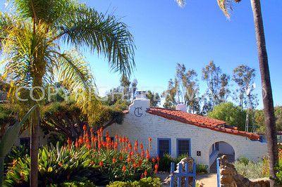6200 Flying Leo Carrillo Lane, Carlsbad, CA - Leo Carrillo Historic Park - 1930s Hacienda