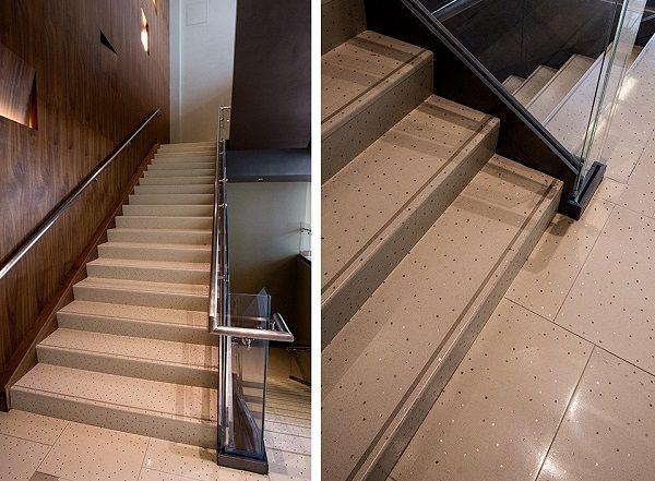 Terrazzo Tile Flooring Stairs Designs Modern Staircase Ideas Interior Staircase  Designs | Belsőép:Világitás Optikai Szál | Pinterest | Terrazzo Tile, ...