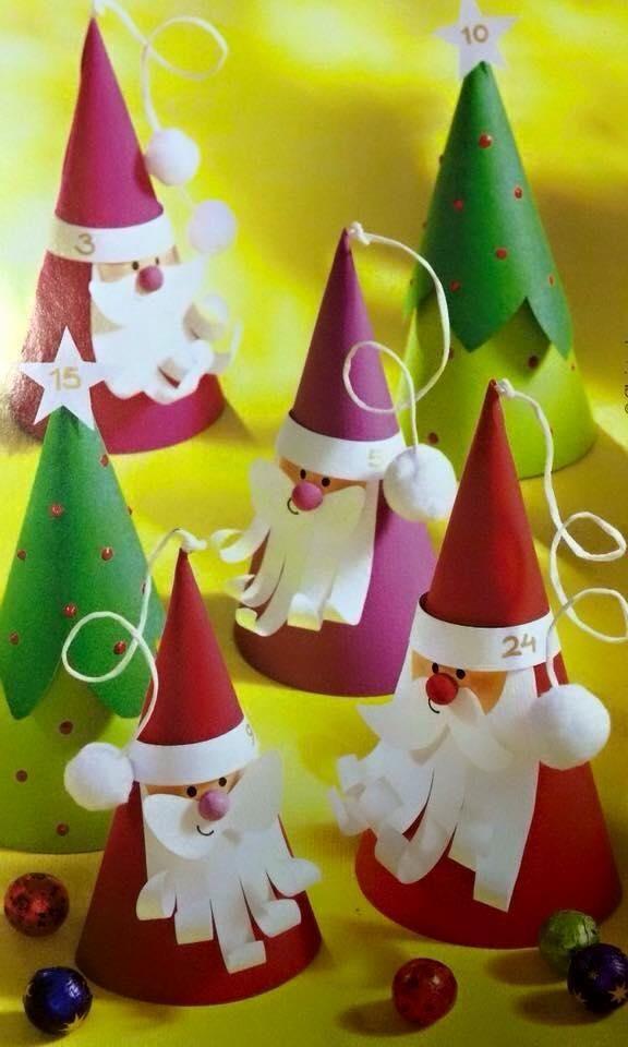 Ideas de navidad f ciles para hacer con ni os ideas de - Decoracion de navidad manualidades faciles ...