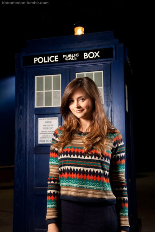 The first Official Doctor Who photo of Jenna-Louise Coleman