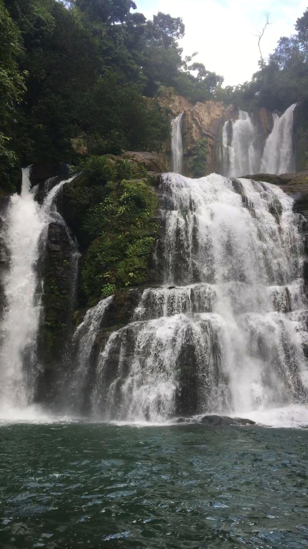 Nauyaca waterfall in Costa Rica  #beautifulnature