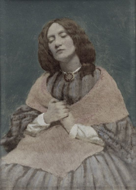 Elizabeth Eleanor Siddal (25 July 1829 – 11 February 1862) was an English artists' model, poet and artist who was painted and drawn extensively by artists of the Pre-Raphaelite Brotherhood, including Walter Deverell, William Holman Hunt, John Everett Millais (including Millais' 1852 painting Ophelia) and most of Dante Gabriel Rossetti's early paintings of women.