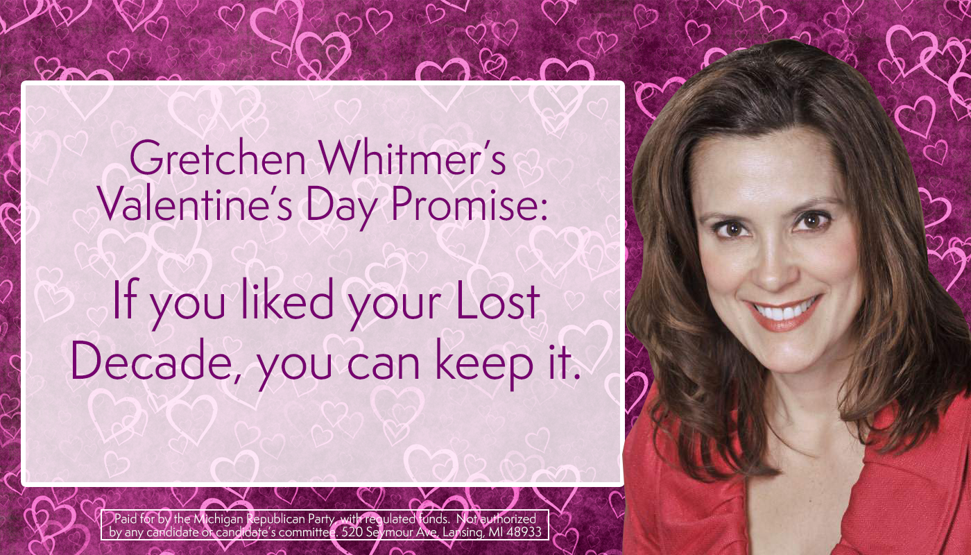 Gretchen Whitmer Is Running For Governor To Take Us Back To The Lost Decade And Even Tweeted On Sunday That Obamacare Works Lost Decade Book Cover Contest