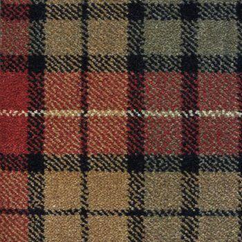 The Tartan Collection Axminster Carpet Weathered Buchanan