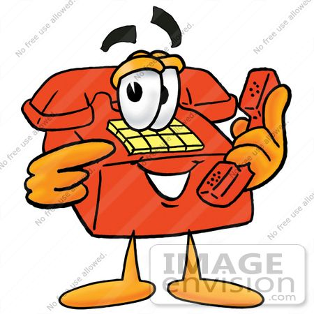 Royalty-Free Telephone Cartoon Character Stock Clipart & Cartoons ...