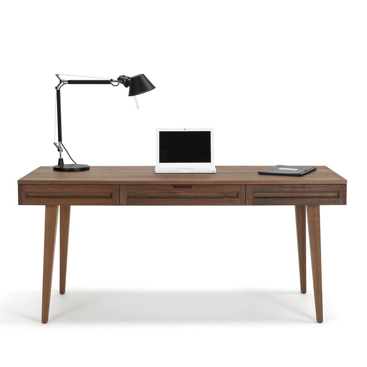 fab com highland work desk 64 walnut table pinterest