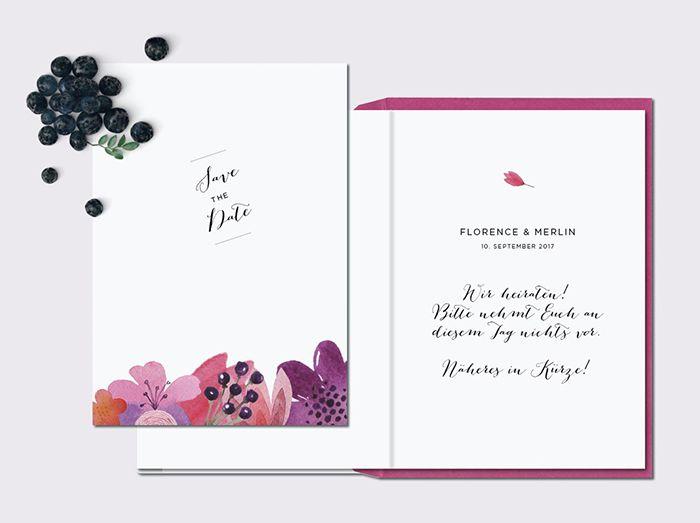 Hochzeitseinladung Im Boho Stil | Friedatheres.com Boho Wedding Invitation  Papeterie Von Carte Royale