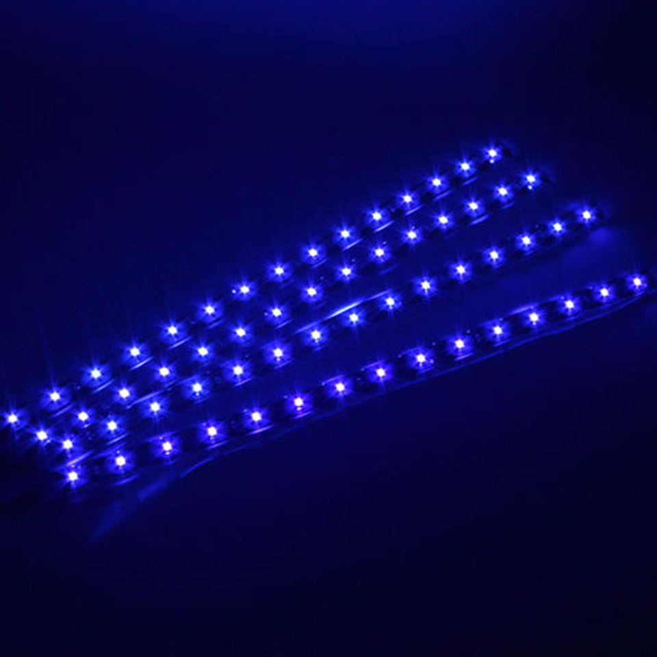 Led Light Strips For Trucks 4Pcs 12V Car Led Bar Lights Car Motorcycle Strip Light Truck