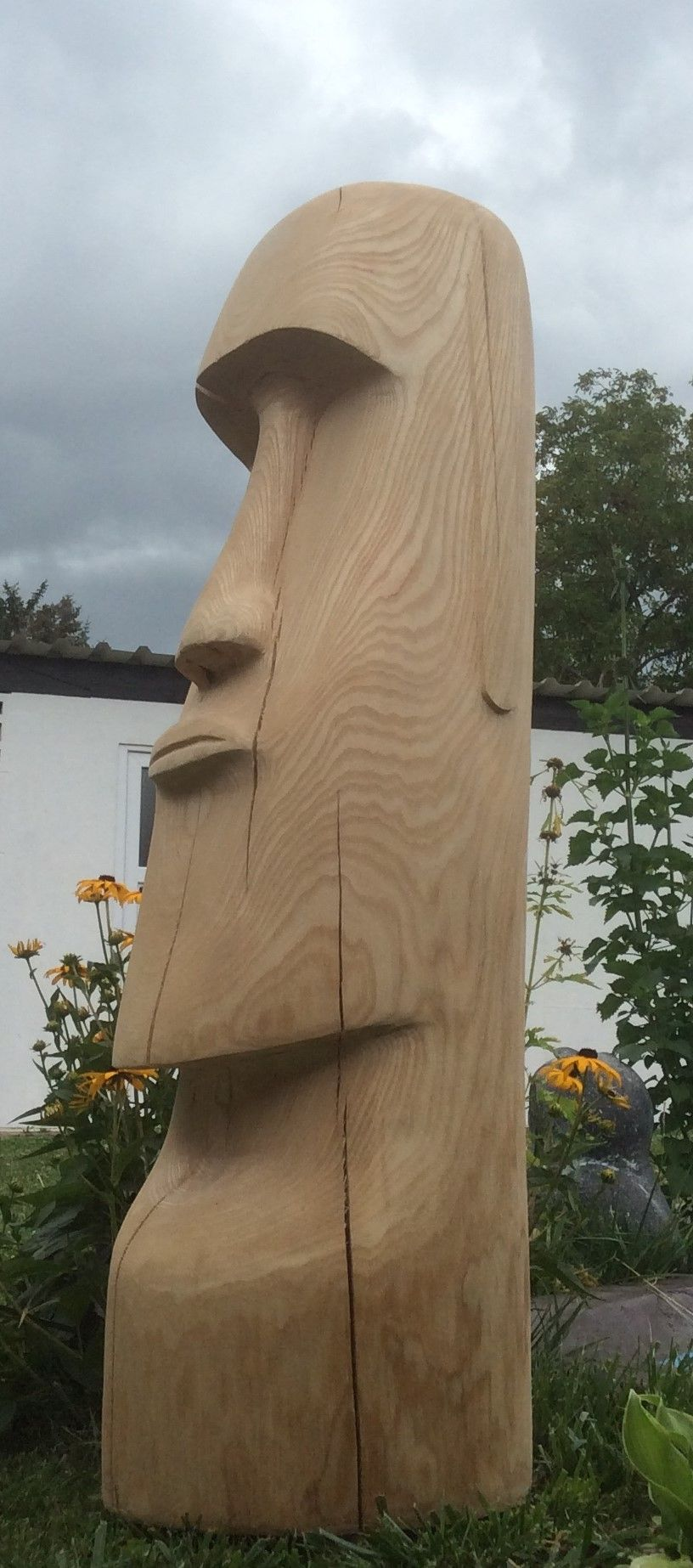 moai chainsaw carvings schnaitmann schnaitmann sven. Black Bedroom Furniture Sets. Home Design Ideas