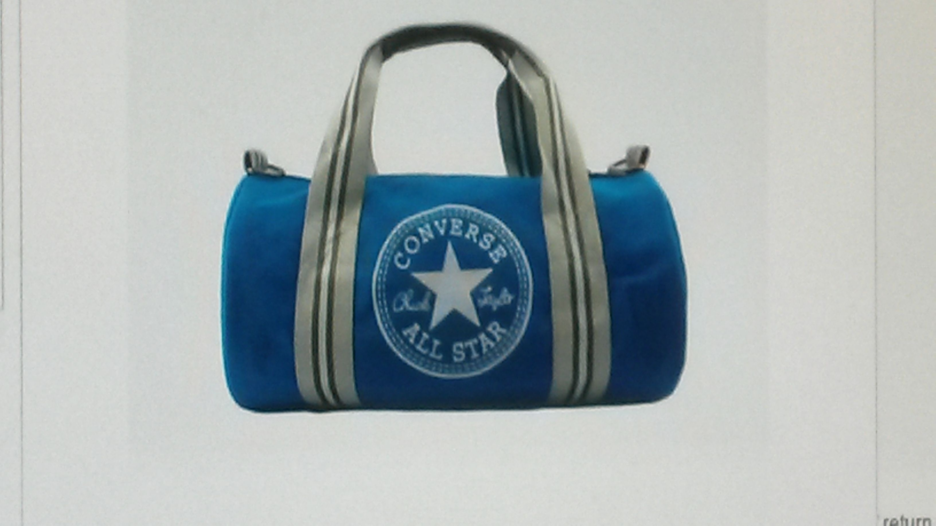 converse bag blue