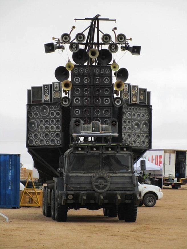 Truck Sound System >> Sound System Gear Mad Max Fury Road Mad Max Mad Max Fury