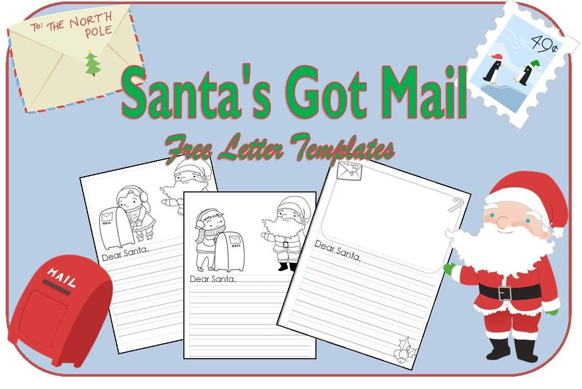 Enchanted Reindeer Treats Classroom Idea  Santa Letter Template